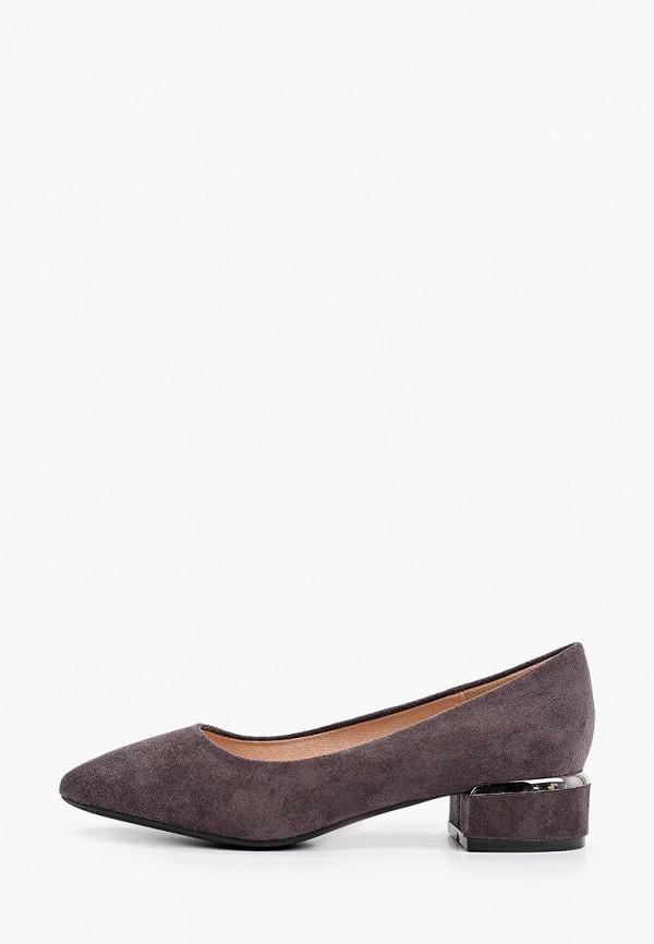 женские туфли с закрытым носом diora.rim, серые