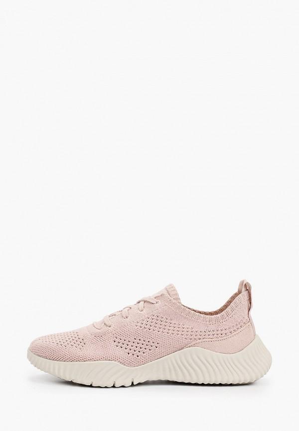 женские низкие кроссовки timberland, розовые