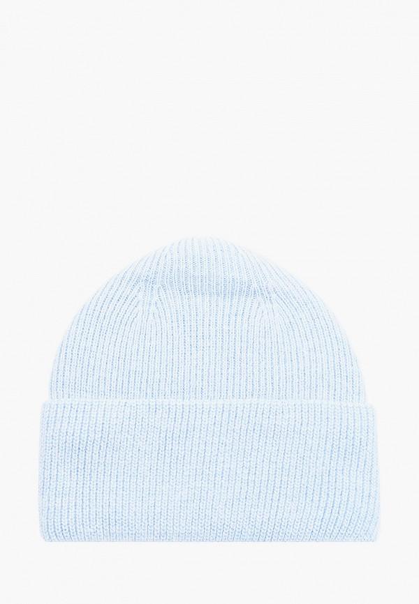 женская шапка fabretti, голубая