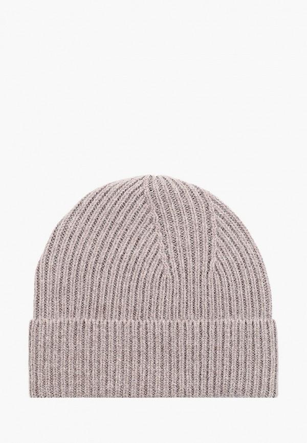 женская шапка fabretti, коричневая