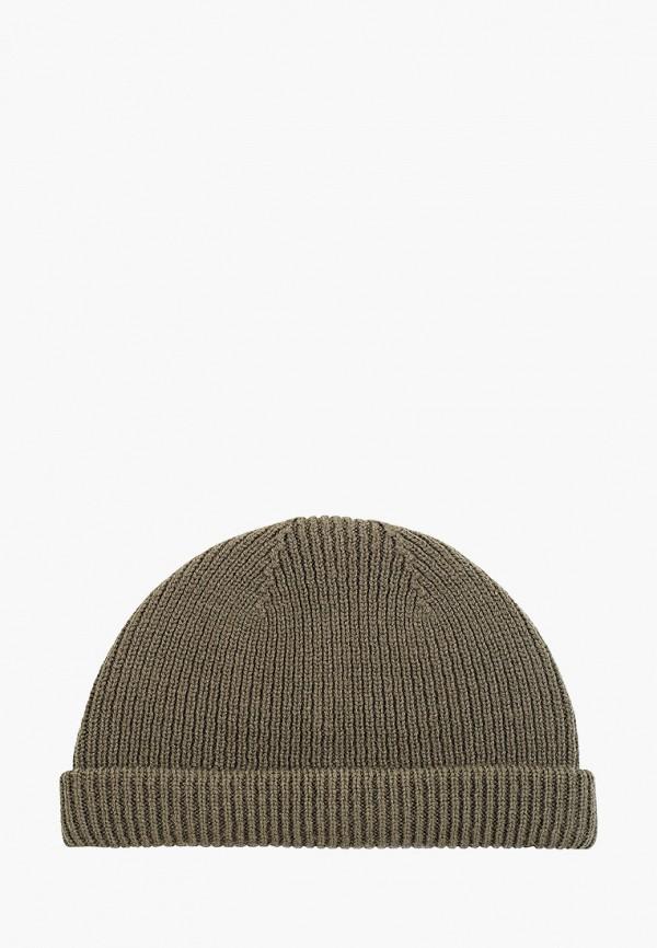 мужская шапка fabretti, зеленая