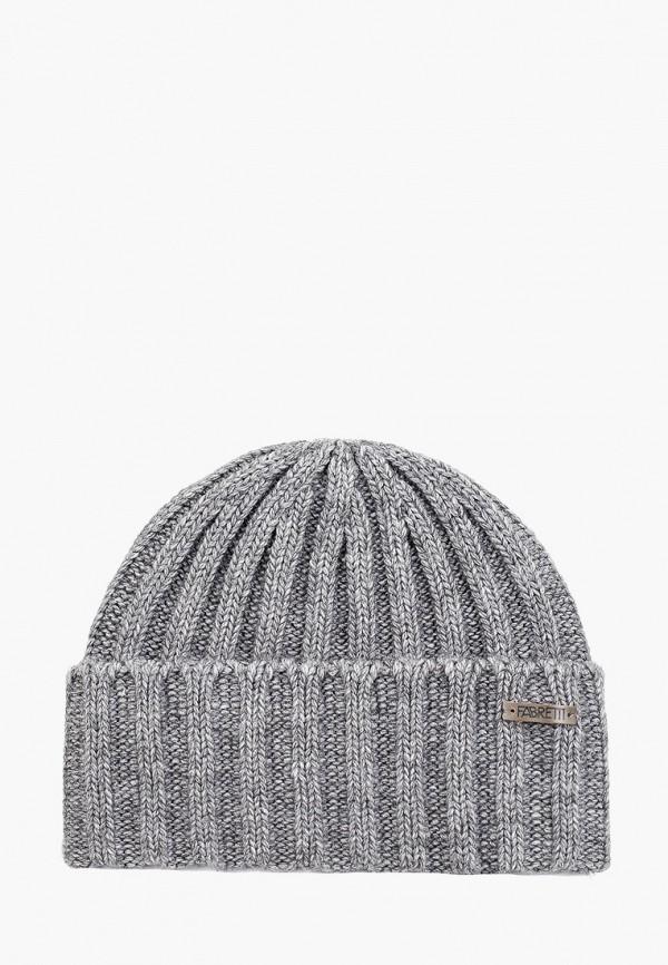 мужская шапка fabretti, черная