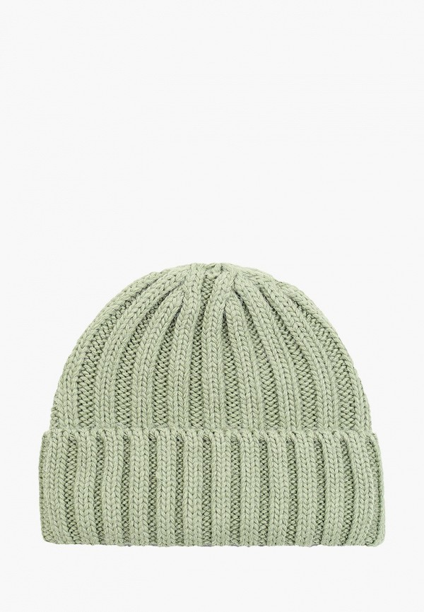 женская шапка fabretti, зеленая