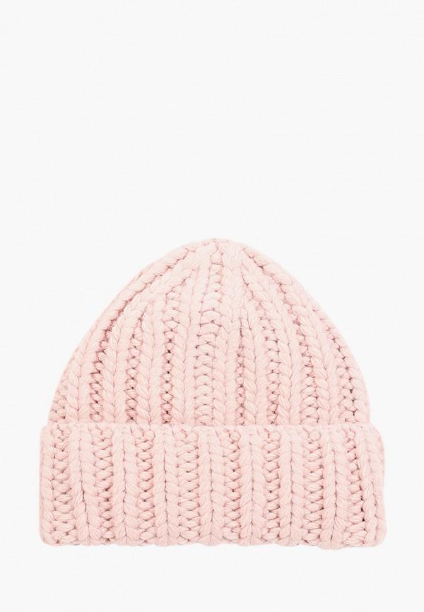 Шапка Fabretti розового цвета