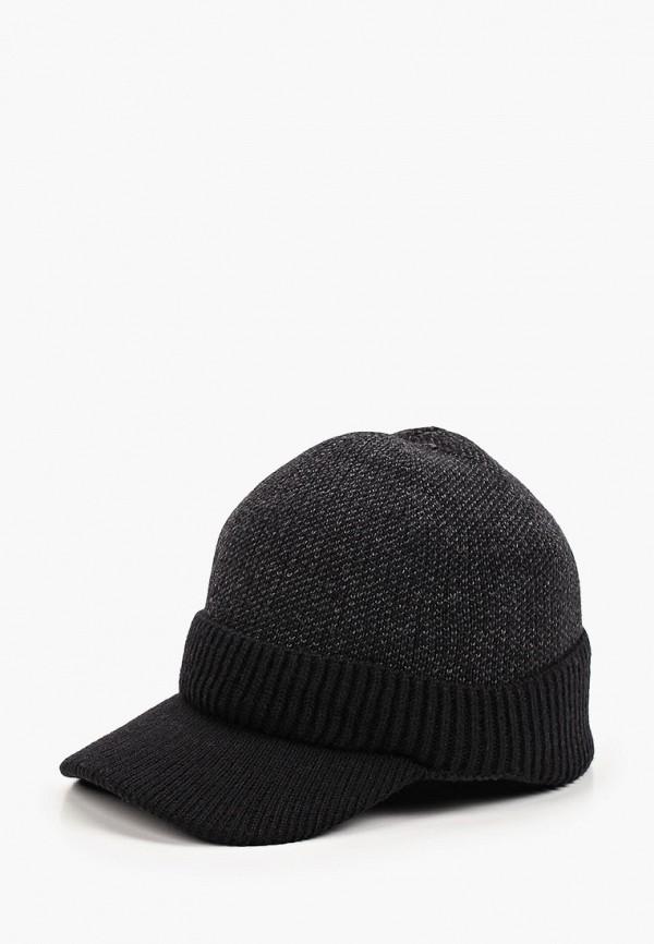 мужская кепка fabretti, черная