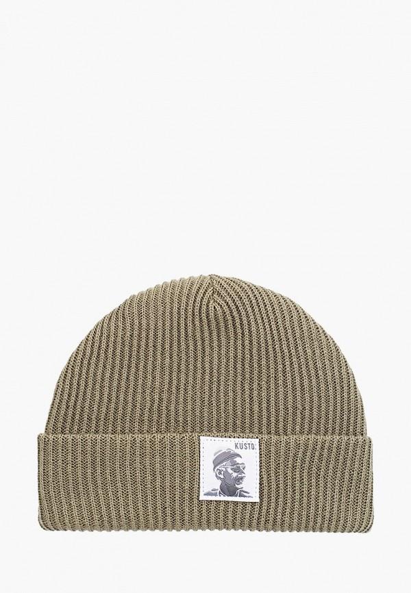 мужская шапка fabretti, хаки