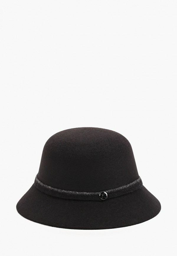 Шляпа Fabretti черного цвета