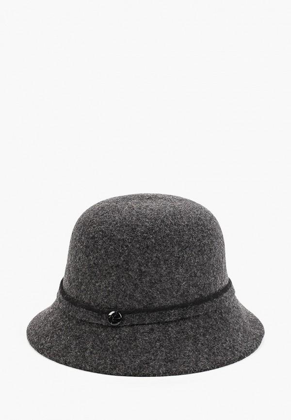 Шляпа Fabretti серого цвета