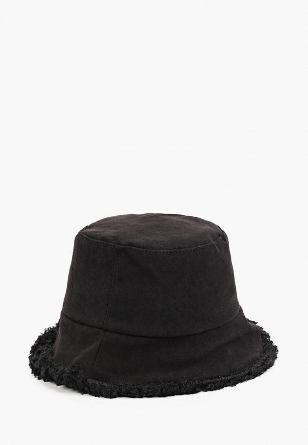 женская панама fabretti, черная