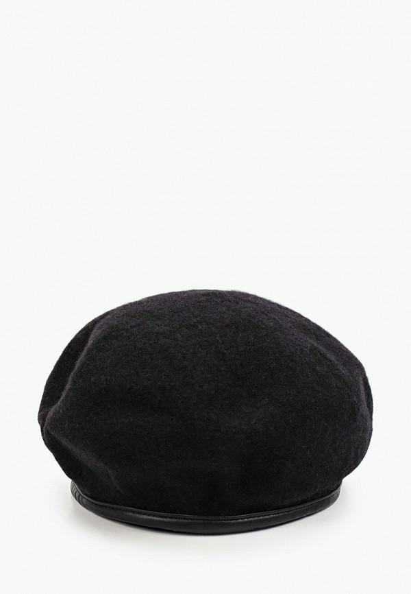 Берет Fabretti черного цвета