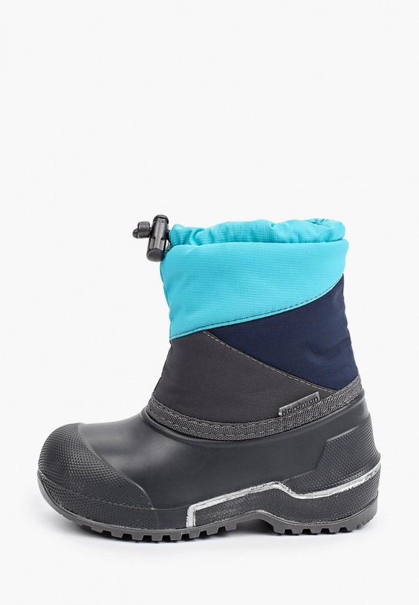 резиновые сапоги nordman малыши, синие