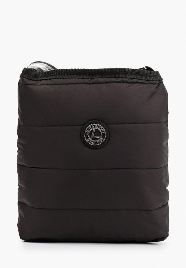 женская сумка через плечо luhta, черная