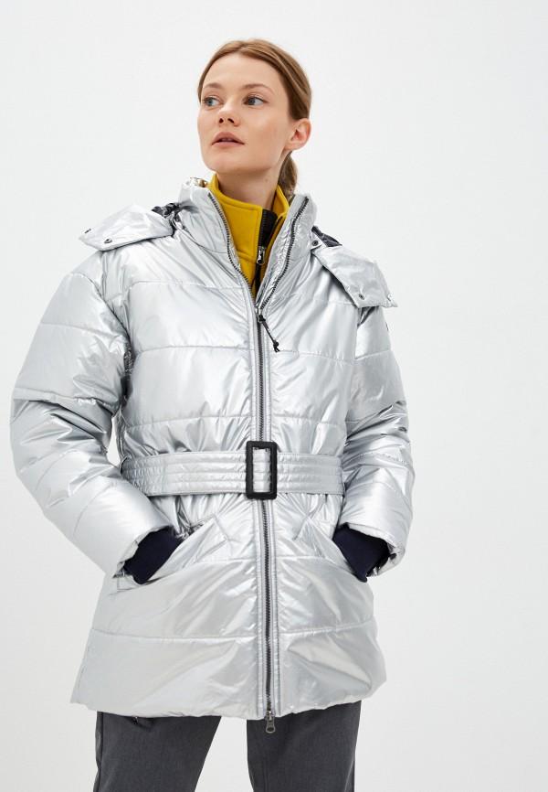 женская спортивные куртка icepeak, серебряная