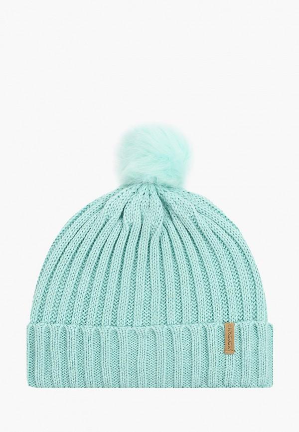 женская шапка icepeak, голубая