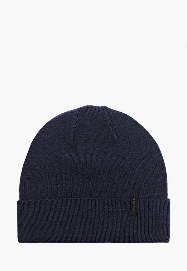 женская шапка icepeak, синяя