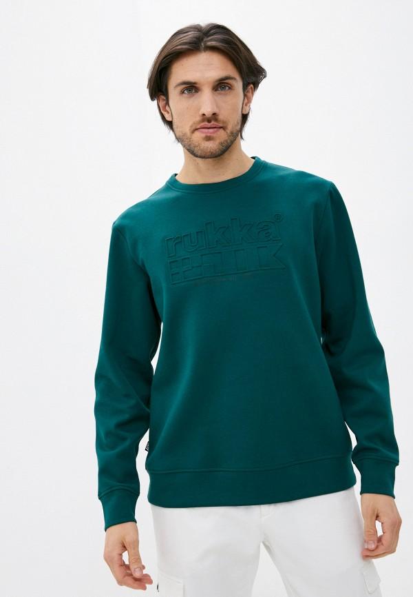 мужской спортивные свитшот rukka, зеленый