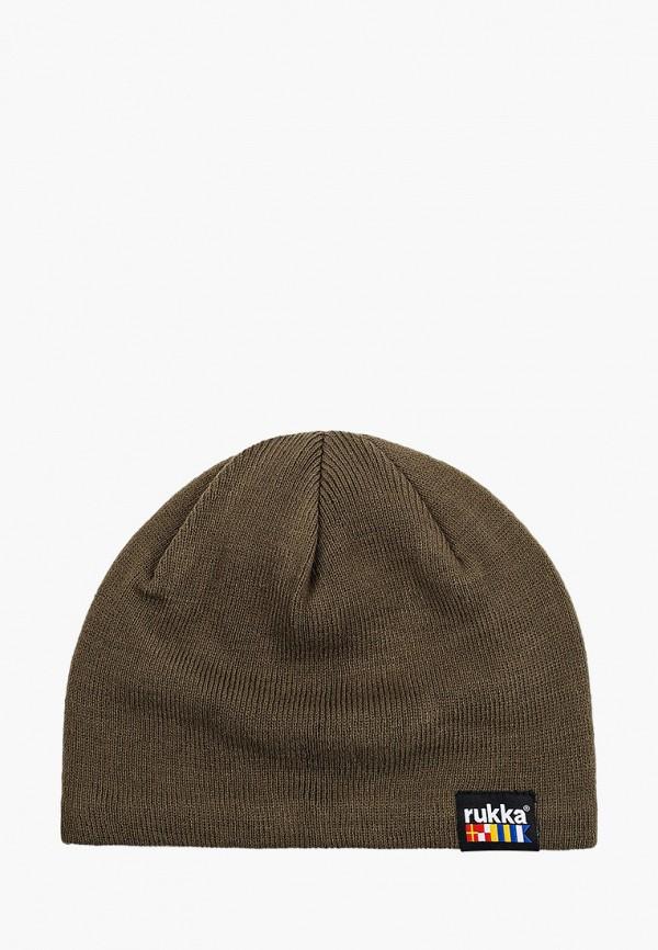 женская шапка rukka, хаки
