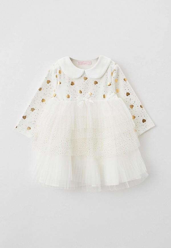 нарядные платье choupette для девочки, белое