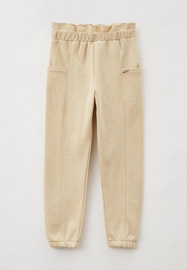 спортивные брюки liu jo для девочки, бежевые