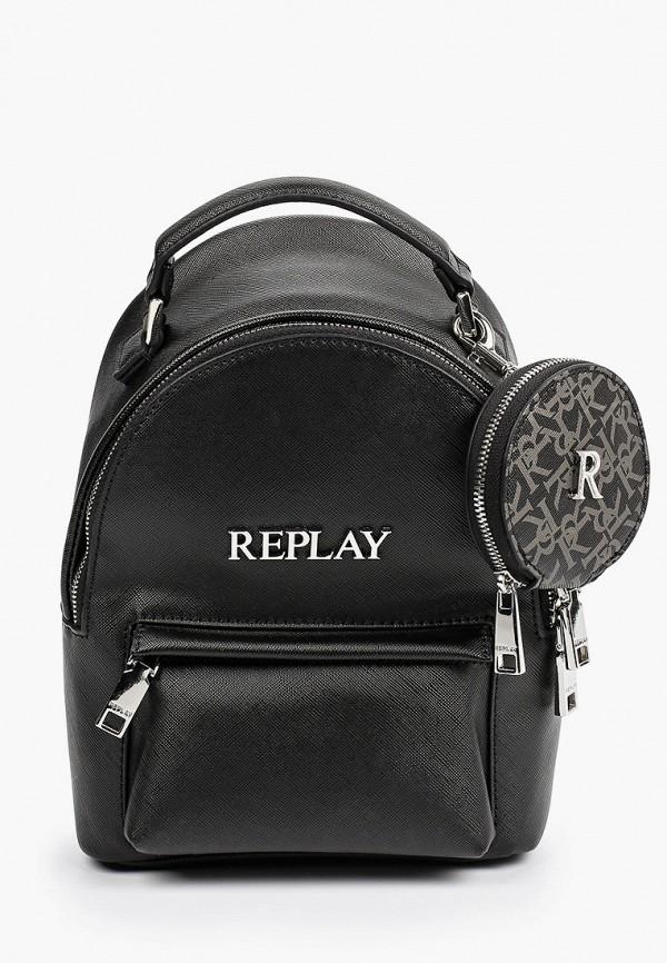 женский кошелёк replay, черный