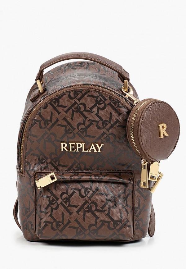 женский кошелёк replay, коричневый