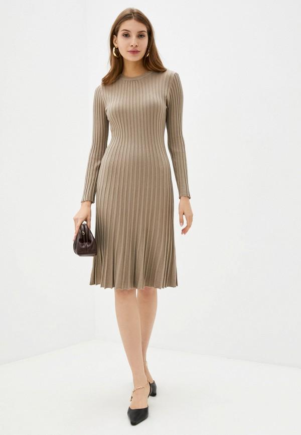женское платье-свитеры fragarika, коричневое