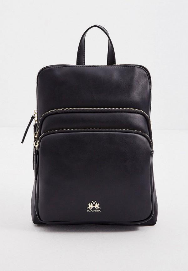 женский рюкзак la martina, черный