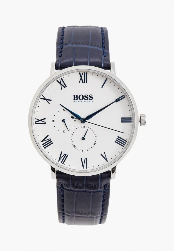 мужские часы boss, синие