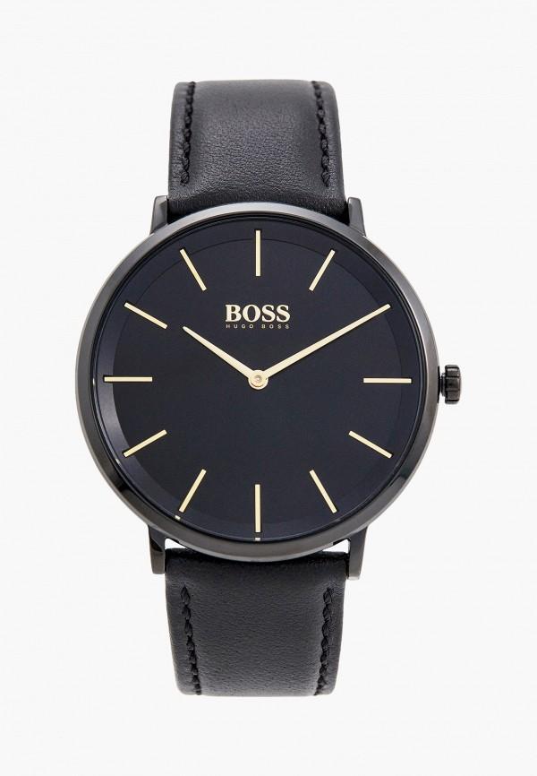 мужские часы boss, черные
