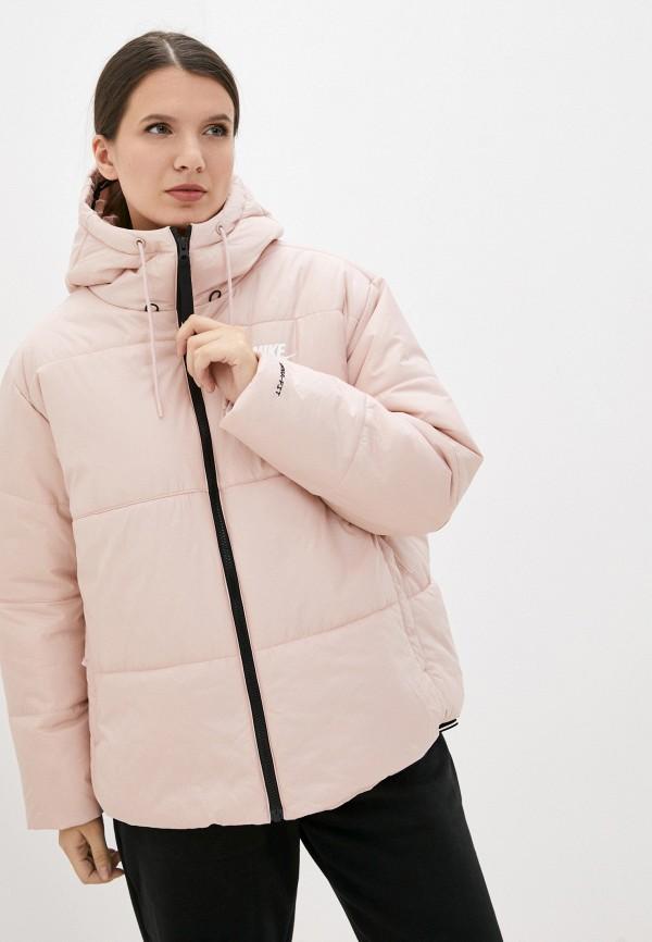 Куртка утепленная Nike розового цвета