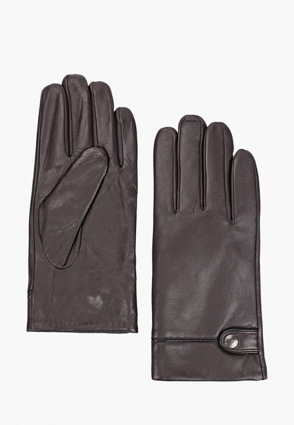 Перчатки Fabretti коричневого цвета
