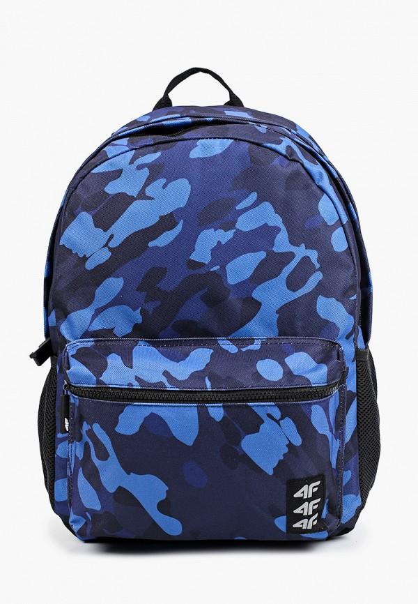 рюкзак 4f для мальчика, синий