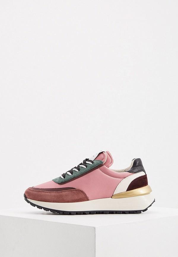 женские низкие кроссовки principe di bologna, розовые