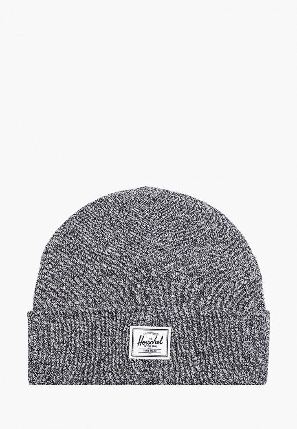 шапка herschel supply co малыши, серая