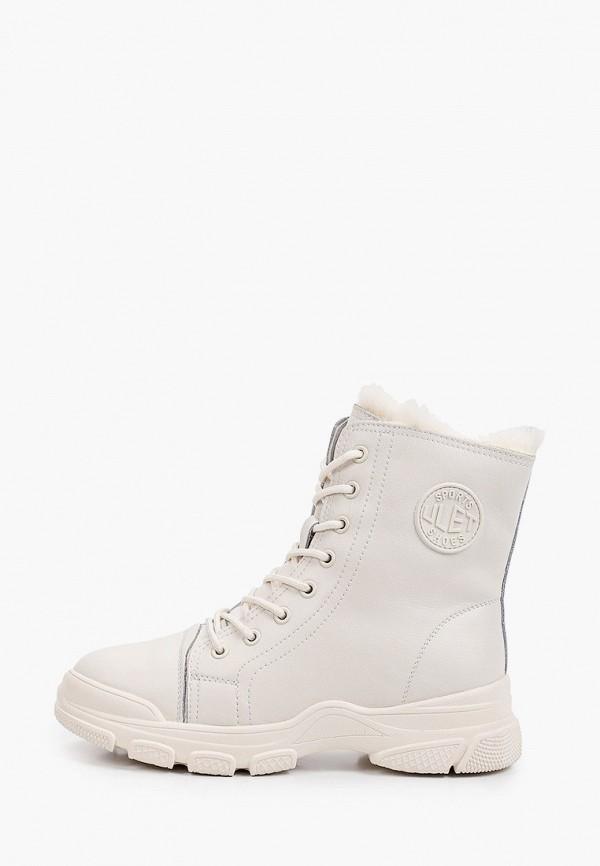ботинки ulёt для девочки, белые