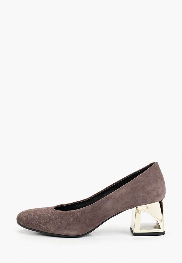 женские туфли с закрытым носом tosca blu, коричневые