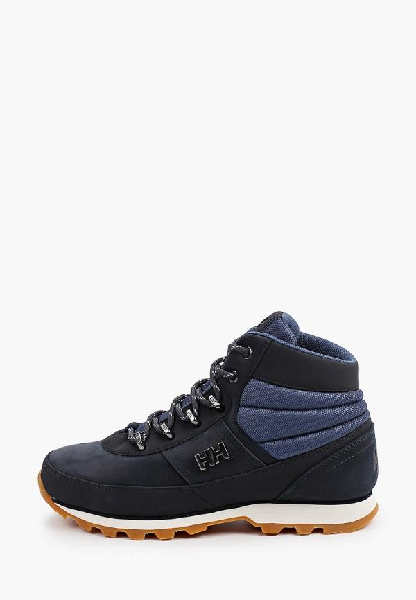 женские высокие ботинки helly hansen, синие