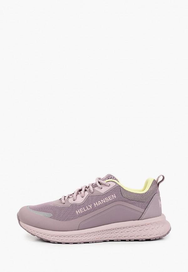 женские низкие кроссовки helly hansen, фиолетовые