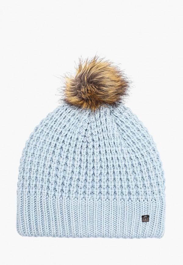 женская шапка helly hansen, голубая