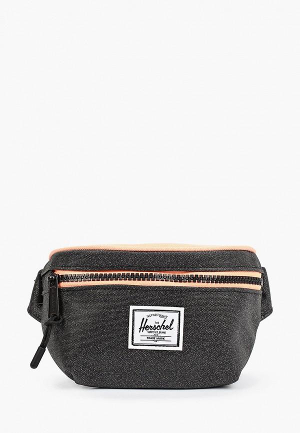 сумка herschel supply co для девочки, черная