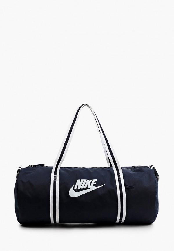 женская спортивные сумка nike, синяя