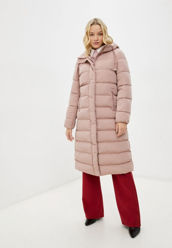женская куртка geox, розовая