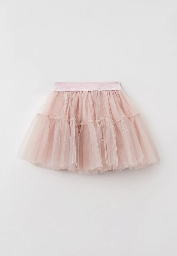 юбка monnalisa для девочки, розовая