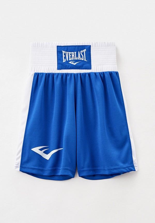 спортивные шорты everlast для мальчика, синие