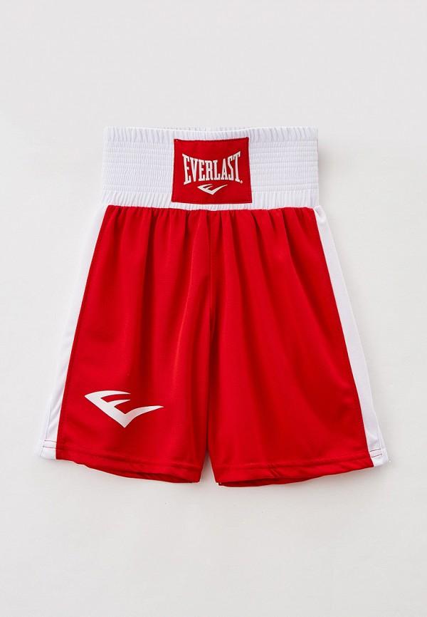 спортивные шорты everlast для мальчика, красные