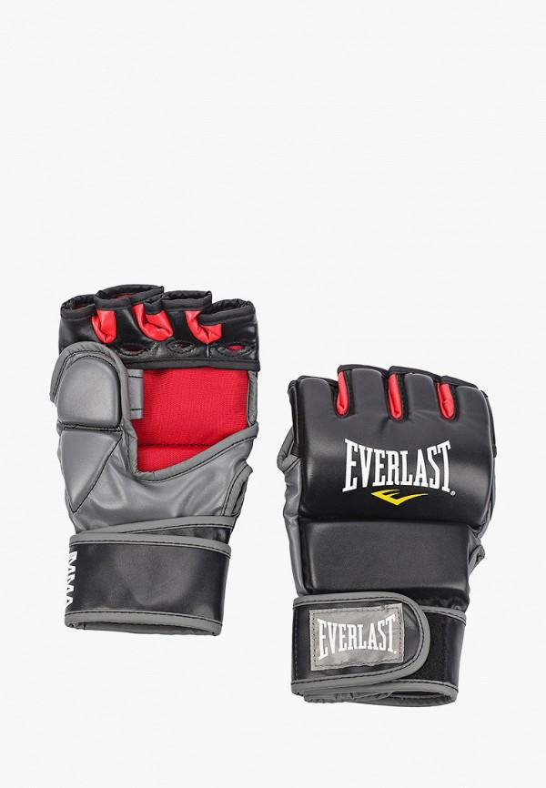 Перчатки ММА Everlast черного цвета