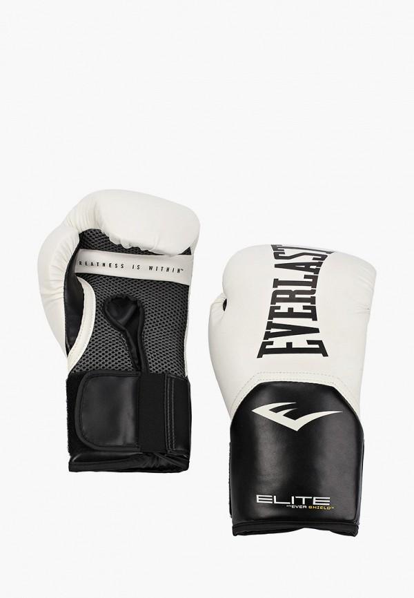 Перчатки боксерские Everlast бежевого цвета
