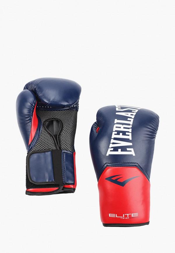Перчатки боксерские Everlast синего цвета