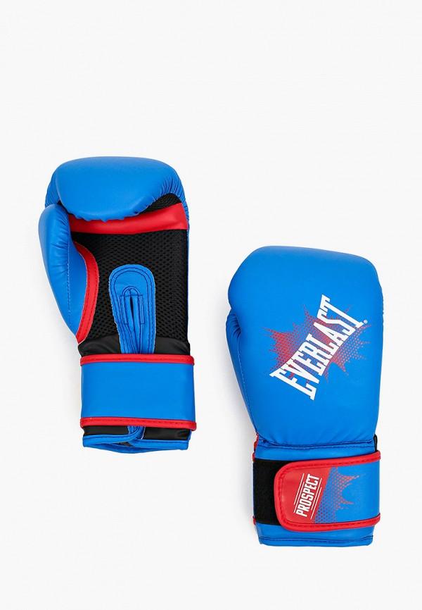 перчатки everlast для мальчика, синие