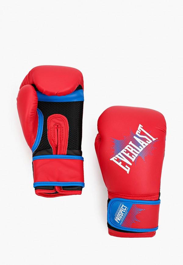 перчатки everlast для мальчика, красные